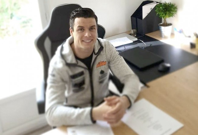Jordi Tixier rejoint le team KTM Sarholz