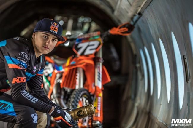 Photos : Liam Everts face à l'objectif de Gino Maes