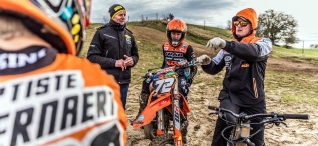 Photos : les espoirs belges en stage avec Motorsport Future