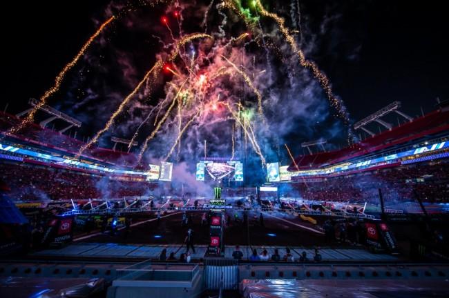 Photos : Supercross US à Tampa