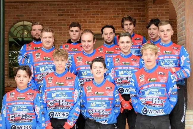 Treize pilotes sous les couleurs du team MC Mikkola