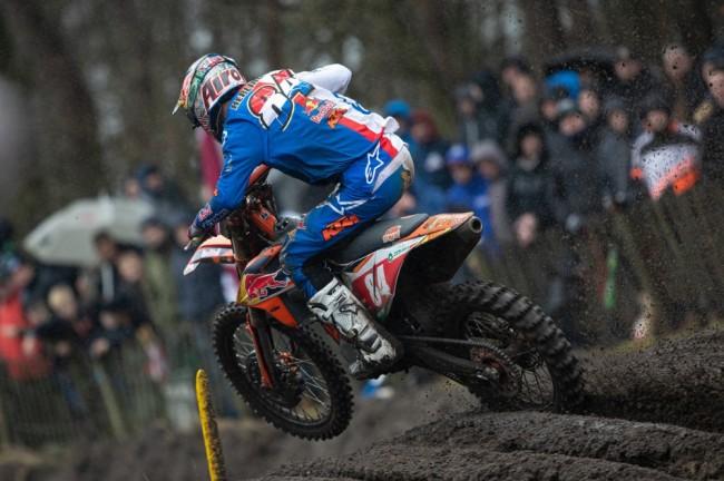 MXGP : la phase finale du duel Gajser/Herlings dans la deuxième manche du GP de Valkenswaard