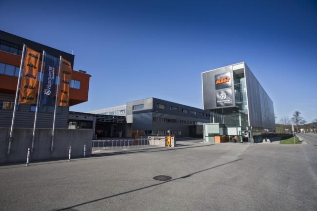 Les chaînes de production du groupe KTM bientôt à l'arrêt