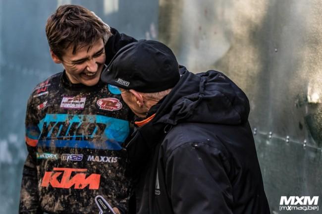 Liam Everts signe son premier doublé sur le championnat EMX125 !