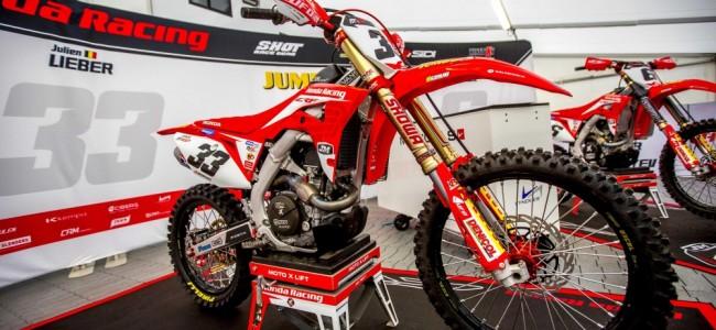 Le team JM Honda Racing par l'équipe de MXGP TV