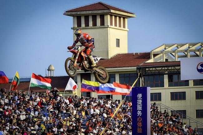 Le championnat MXGP retournera à Shanghai