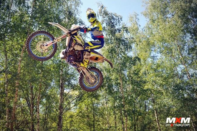 EnduroGP : Antoine Magain monte sur son premier podium Elite en Italie