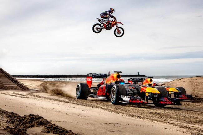 Vidéo : Jeffrey Herlings et Max Verstappen dans le sable hollandais