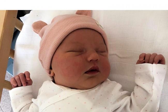 Julie Strijbos est née !