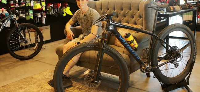 Jago Geerts choisit Specialized