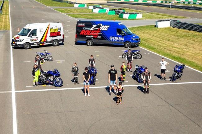 Les six pilotes de la Belgian Motorcycle Academy entament leur programme de formation ce mercredi