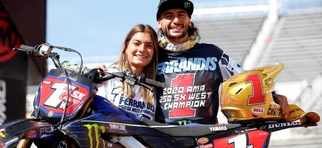 Dylan Ferrandis en 450 avec Yamaha Star Racing