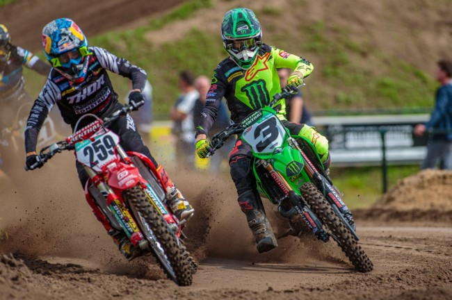 Photos : motocross international à Arnhem
