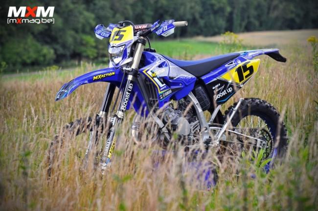 "Essai : Yamaha 125WR ""MX Action"""