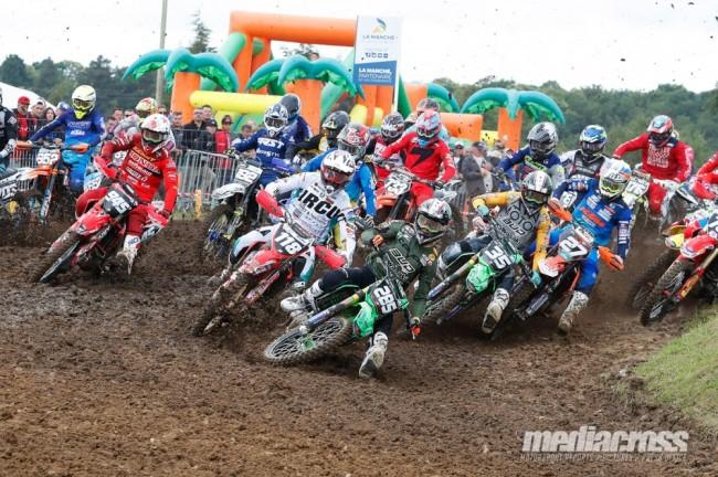 Le calendrier du championnat de France de motocross Elite est