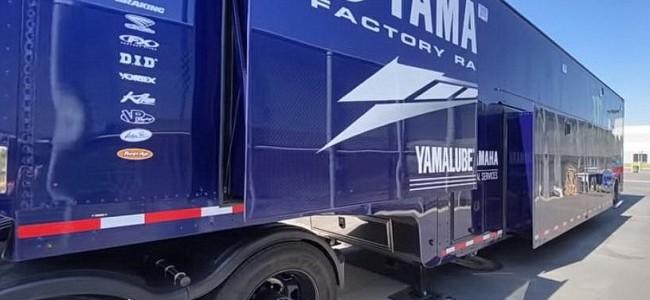 Vidéo : le nouveau camion du team Yamaha US