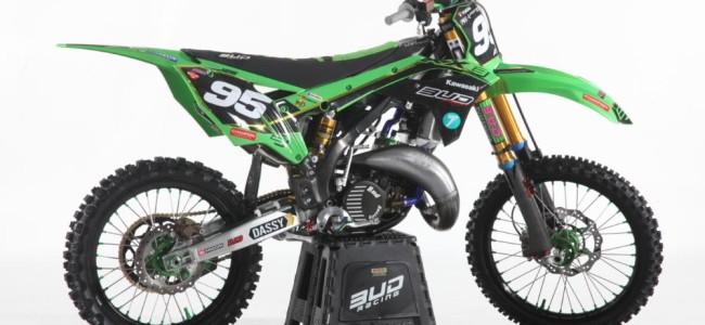 """Photos : une KX150 spéciale """"25 ans"""" chez Bud Racing"""