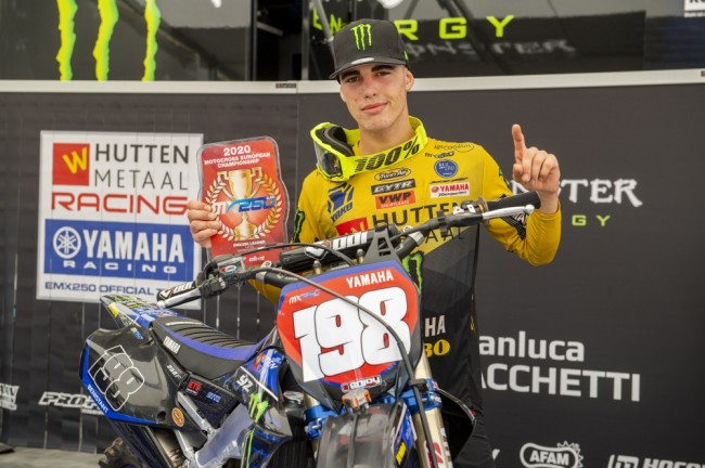 Yamaha confirme Thibault Benistant en MX2 aux côtés de Jago Geerts et Maxime Renaux