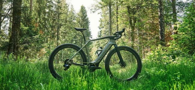 Grail:ON : le nouveau gravel bike électrique de Canyon