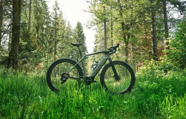 Grail:ON : le nouveau gravel bike électrique de Canyon