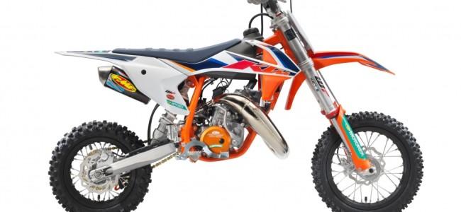 """KTM présente sa 50 SX """"Factory Edition"""""""