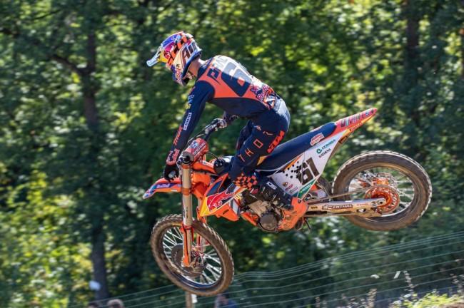 Première victoire pour Jorge Prado en MXGP