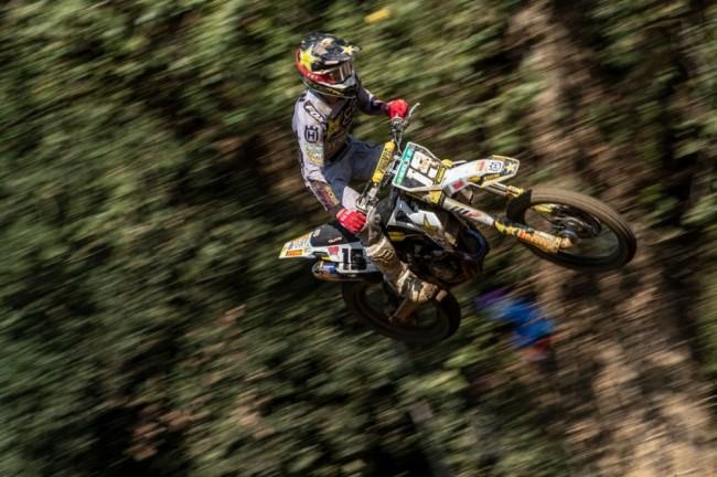 Mantova : Thomas Kjer Olsen monte sur la première marche d'un podium MX2 inédit