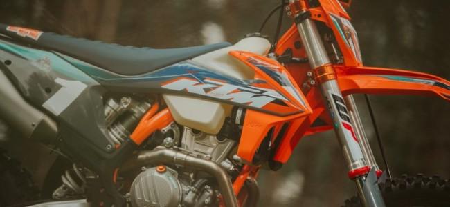"""Une série spéciale """"WESS"""" de la KTM 350 EXC-F 2021"""