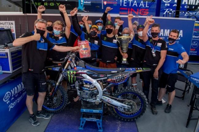 EMX250 : quatrième succès consécutif pour Thibault Benistant