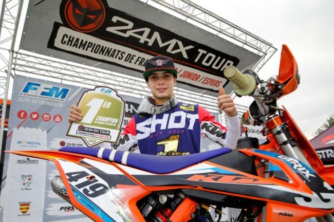 Sacha Coenen remporte le titre Espoirs 85 en France