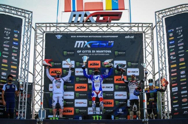 EMX250 : le résumé vidéo du 6ème round à Mantova