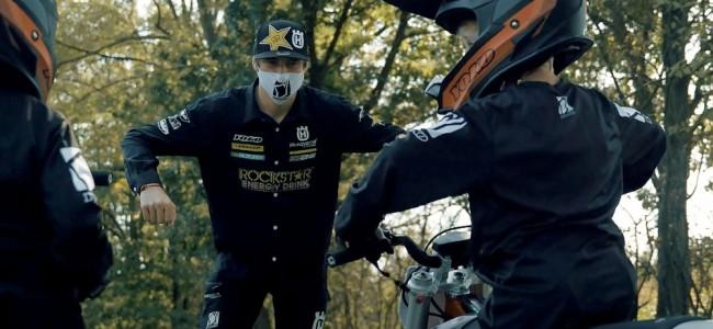 Vidéo : Arminas Jasikonis prodigue des conseils aux jeunes pilotes de MX4Kids