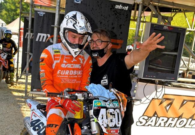 Lucas Adam revient sur sa première expérience sur le mondial MX2