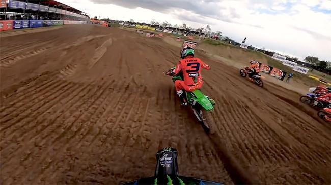 Vidéo : dans la seconde manche MXGP de Mantova avec Gautier Paulin