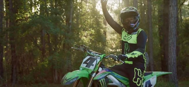 Vidéo : Ricky Carmichael de retour en vert