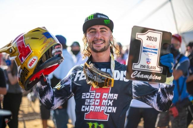 Motocross US : un premier titre outdoor pour Dylan Ferrandis !