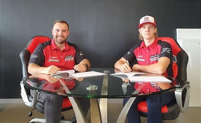 Isak Gifting confirmé chez Diga Procross GasGas Factory Racing pour la saison prochaine