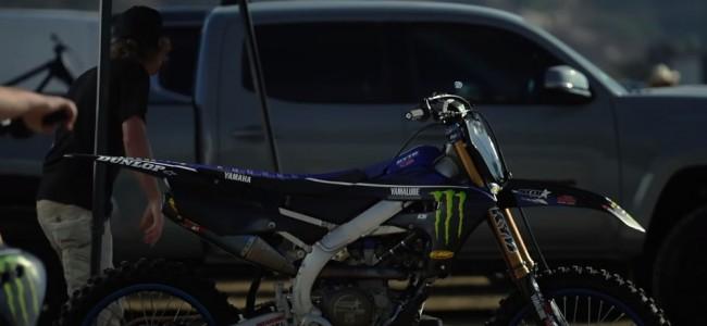 Vidéo : Christian Craig découvre la Yamaha YZ250F du team Star Racing