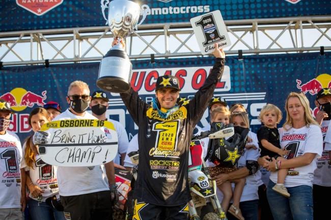 Motocross US : Zach Osborne champion !