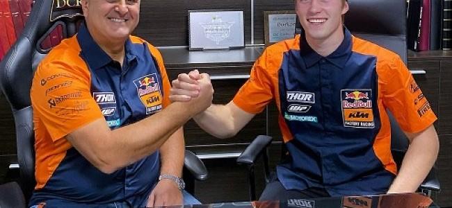 Mattia Guadagnini chez KTM Factory aux côtés de Cairoli et Prado