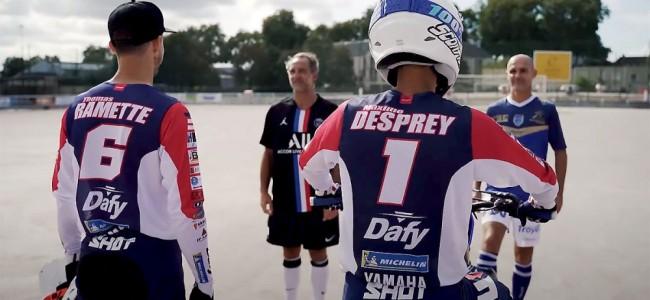 Vidéo : Thomas Ramette et Maxime Desprey à l'épreuve du moto-ball