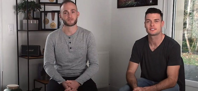 Jordi Tixier et Benoît Paturel complices pour la bonne cause