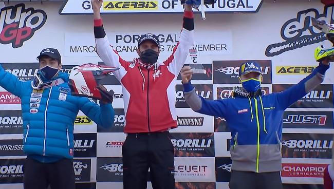 EnduroGP : la deuxième journée du GP du Portugal en images