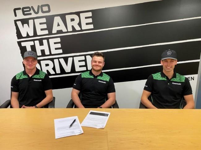 MXGP : le team REVO de retour avec Dylan Walsh