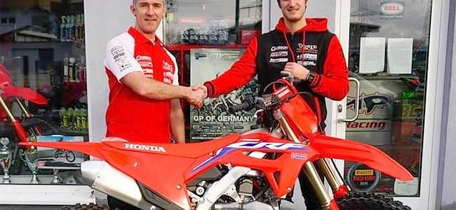 Petar Petrov signe chez KMP Honda Racing