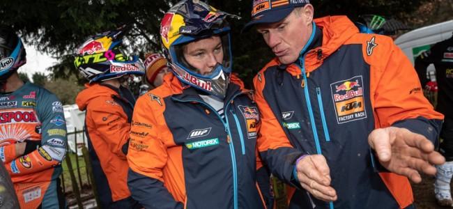 René Hofer a repris le guidon de sa KTM officielle