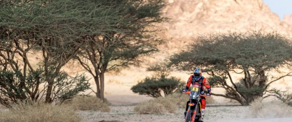Dakar : Honda tout près d'un second succès consécutif