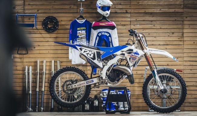 """Une Honda 125cc """"Peak Pro Circuit"""" pour célébrer 30 ans de collaboration avec SCOTT"""