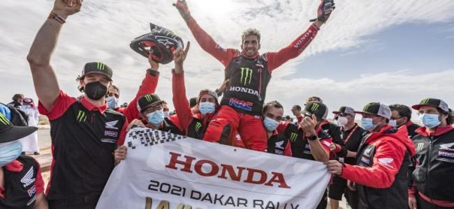 Dakar : doublé pour Honda avec Benavides et Brabec