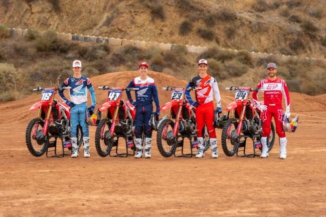 Supercross : le team Honda HRC est prêt !